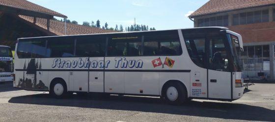 Flotte Busunternehmen Straubhaar