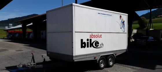 Anhänger für Bike Fahrrad Velo Veloanhänger
