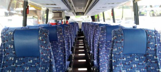 helle gemütliche Fahrten mit dem Bus - Reisekomfort