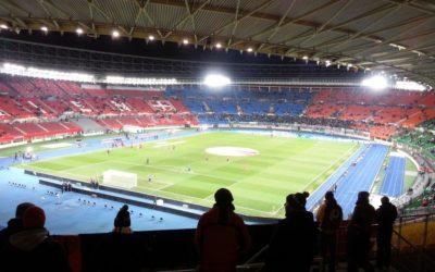 Fußballstadion Heimspiel
