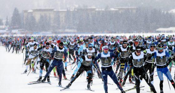 Engadin Skimarathon Massenstart