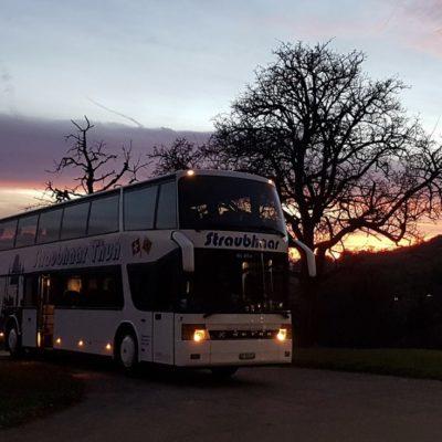 Bus Abendstimmung